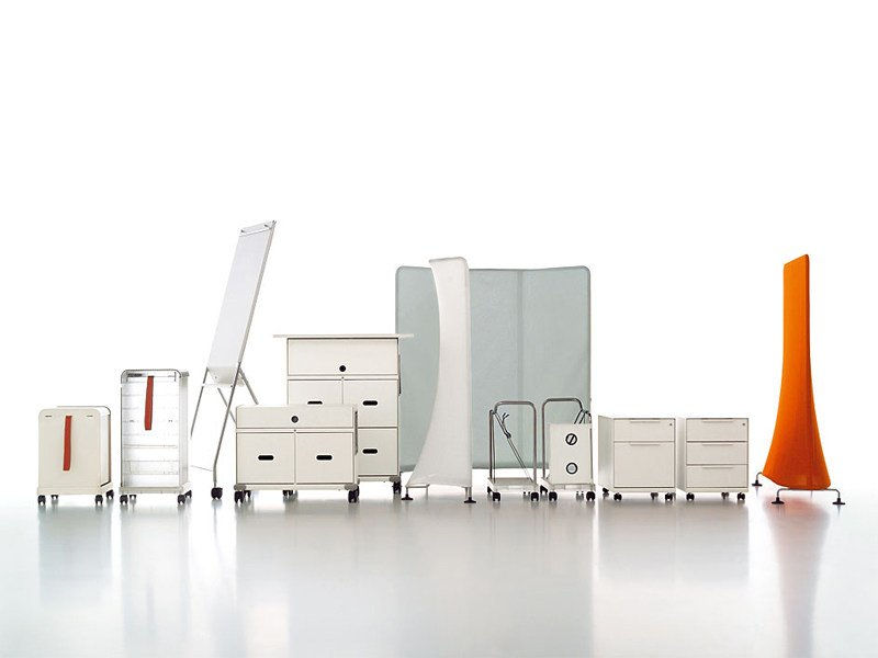 Workstation furniture for open space MOBILE ELEMENTS - Vitra