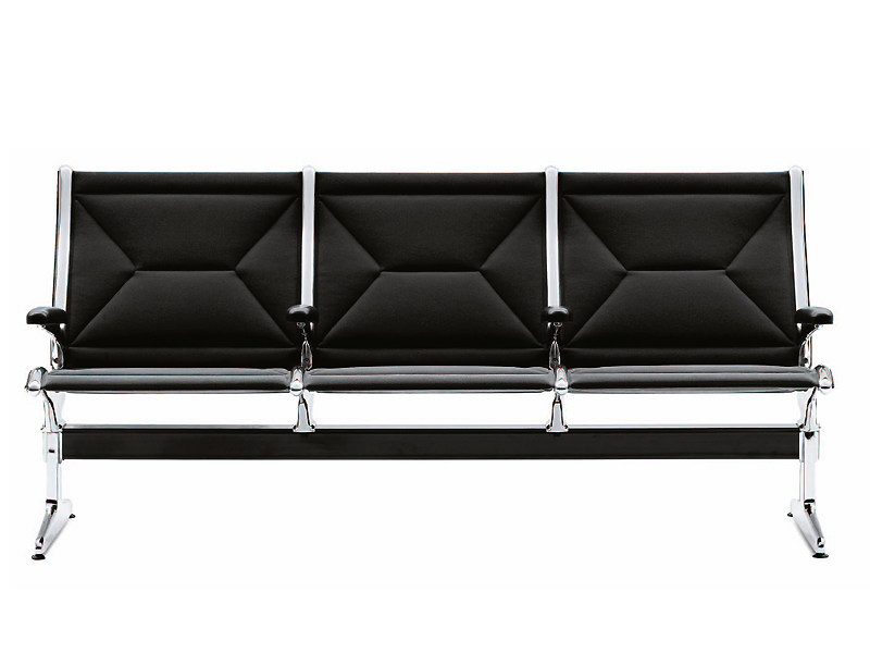 Beam seating with armrests TANDEM SEATING - Vitra