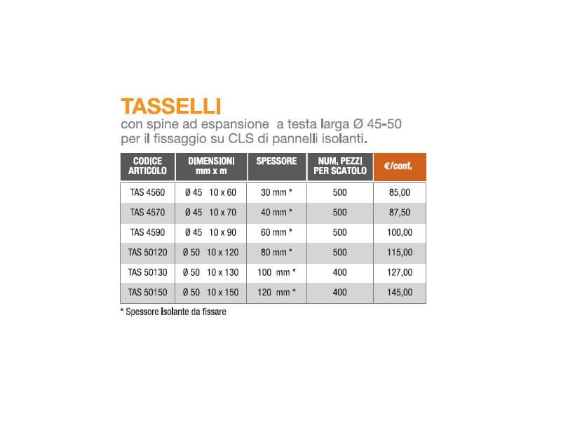 Tasselli - PREBIT