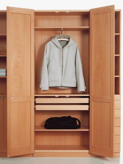 Scandinavian style wooden wardrobe KA72 | Wooden wardrobe - Karl Andersson & Söner