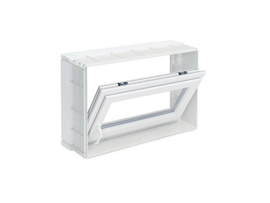 Monoblock window Vasistas opening windows - Pircher