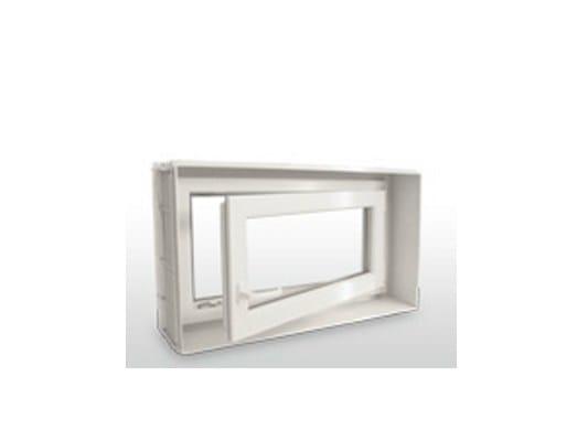 Monoblocco per finestra finestre con apertura a wasistas ed anta by pircher - Finestre monoblocco prezzi ...