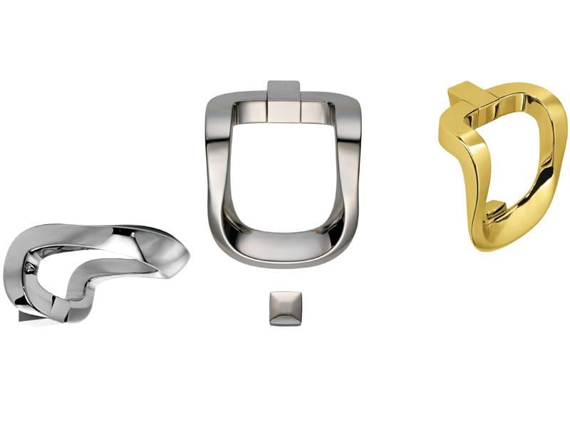 Contemporary style brass door knocker 696 | Brass door knocker - Enrico Cassina