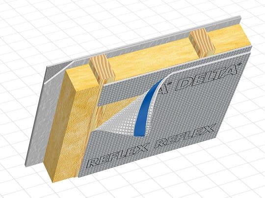 Vapour barrier for roof DELTA® - REFLEX by DÖRKEN ITALIA