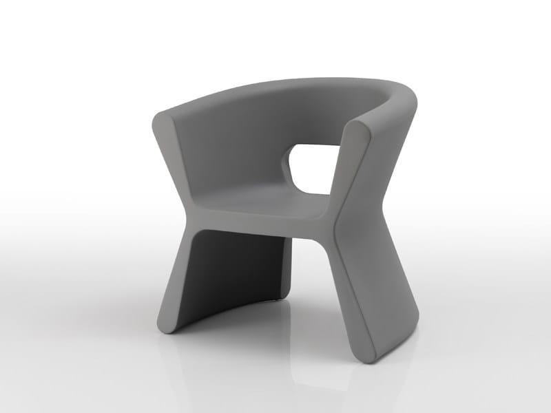 Polyethylene garden armchair PAL | Garden armchair - VONDOM