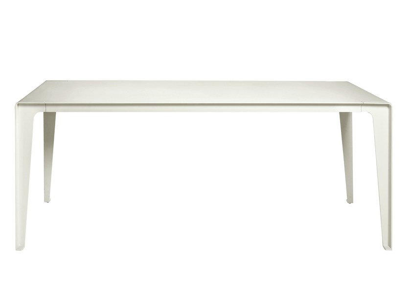Rectangular aluminium garden table MIRTHE | Garden table - TRIBÙ