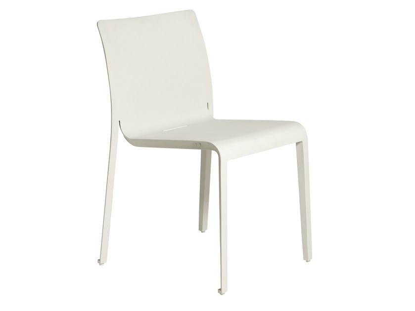 Stackable aluminium garden chair MIRTHE | Garden chair - TRIBÙ