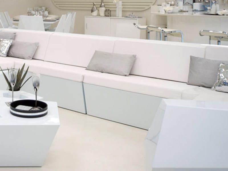 Modular garden sofa FAZ | Sofa by VONDOM