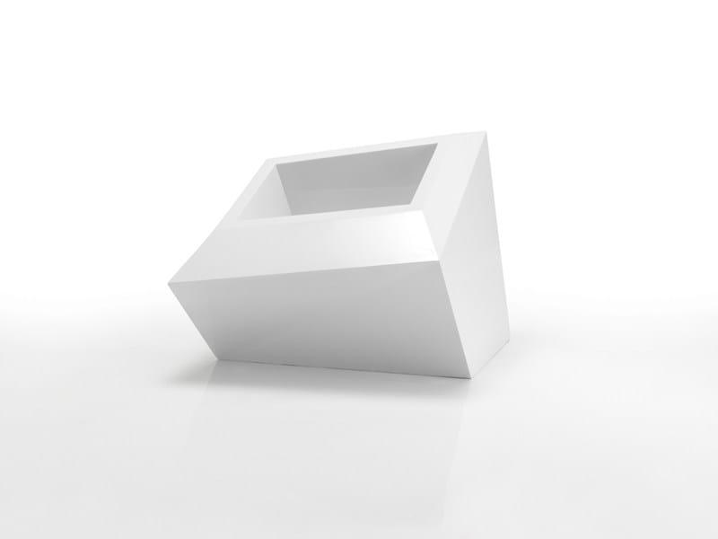 Polypropylene vase FAZ | Low vase - VONDOM