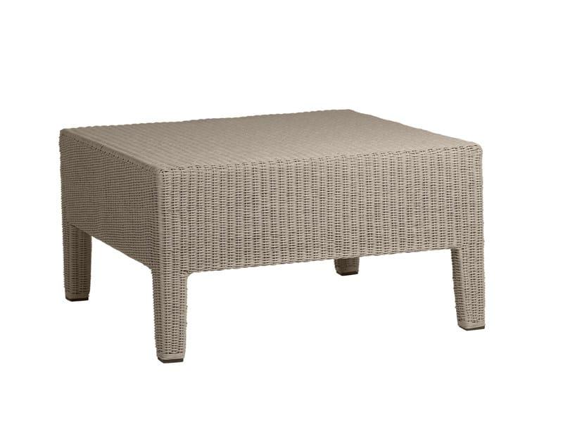 Square Canax® garden footstool TERRA | Garden footstool - TRIBÙ