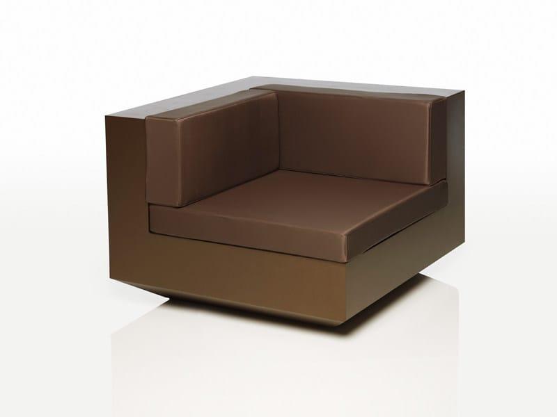 Polyethylene garden armchair VELA | Garden armchair - VONDOM