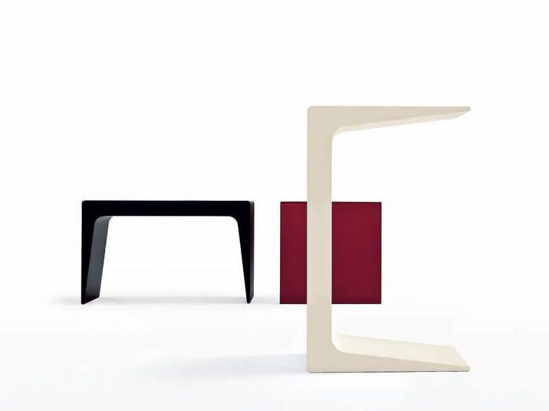 Polyurethane coffee table CU - Kristalia