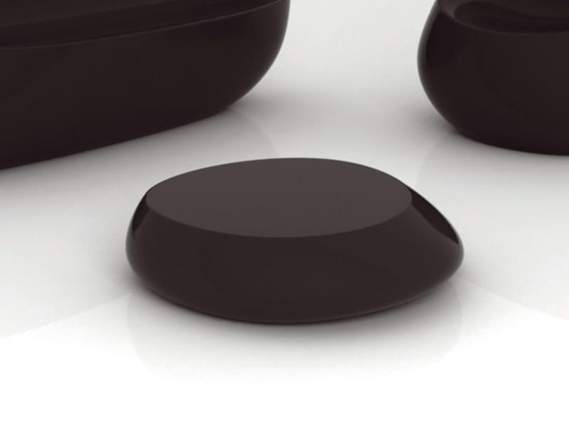 Low polyethylene garden side table STONES | Garden side table - VONDOM
