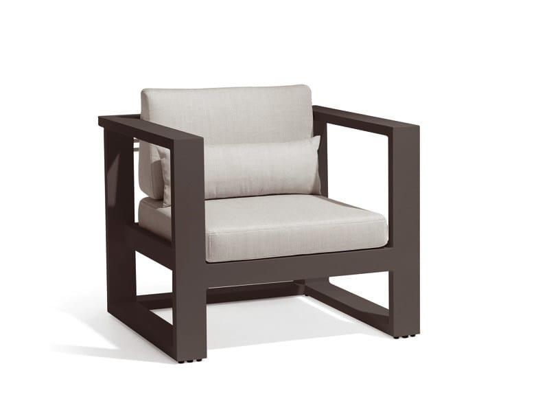 Garden armchair FUSE | Garden armchair - MANUTTI