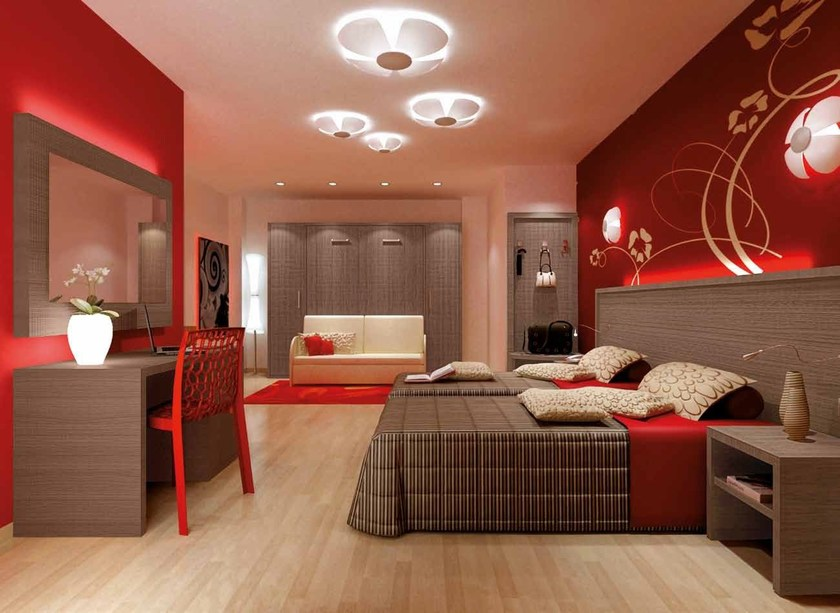 Arredamento per residence in stile moderno zeus mobilspazio for Arredamento stile moderno