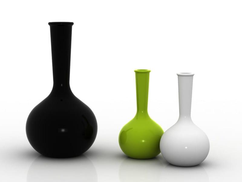 Polyethylene vase with Light CHEMISTUBES - VONDOM