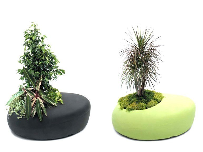 Polyethylene Flower Pot Outdoor Chair Bd Love Planter By