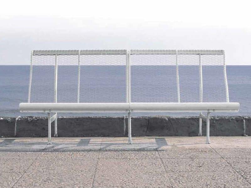 Banco modular en acero catalano by bd barcelona design - Acero modular precios ...