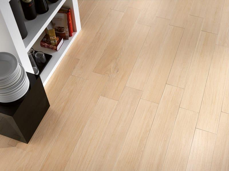 Pavimento in gres porcellanato effetto legno doghe sichenia - Scale gres porcellanato ...