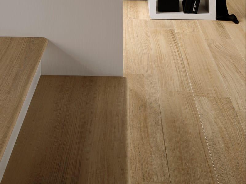 Pavimento in gres porcellanato effetto legno doghe sichenia - Suelo de gres imitacion madera ...