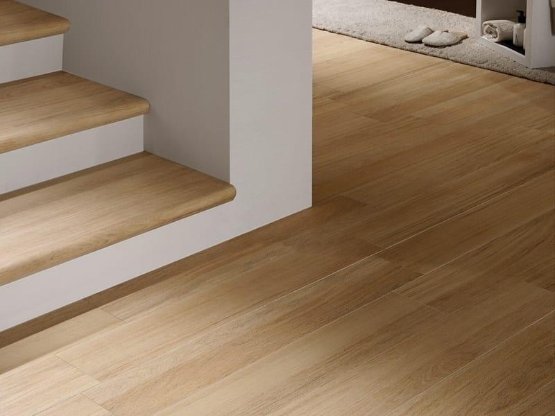 pavimento in gres porcellanato effetto legno doghe - sichenia - Piastrelle Gres Finto Legno