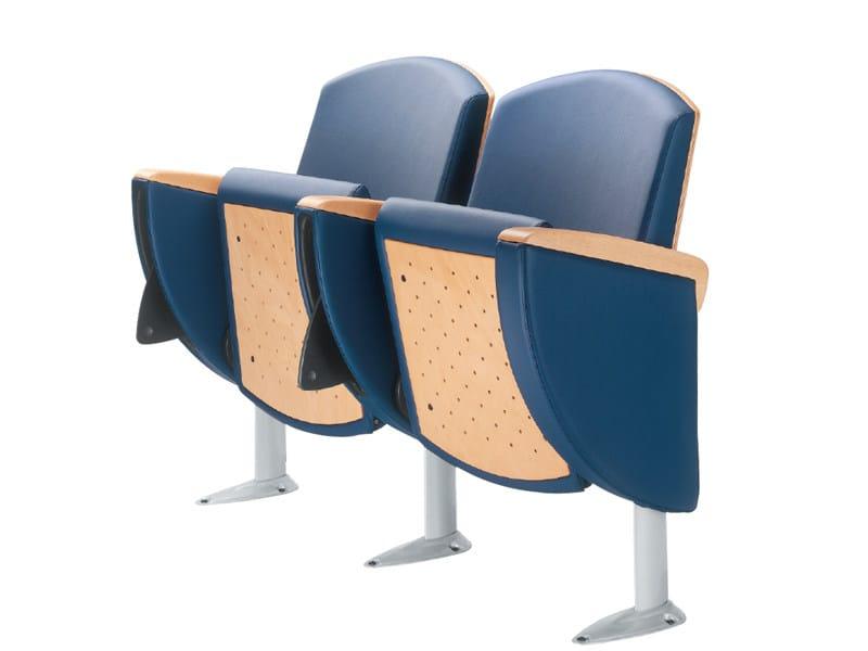 Auditorium seats METROPOLITAN WOOD - Ares Line