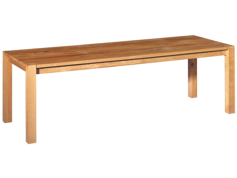 Rectangular solid wood table MADAME LILLIE - e15
