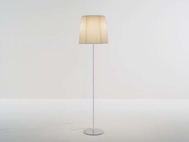 Fabric floor lamp NURA | Floor lamp - LUCENTE - Gruppo Rostirolla