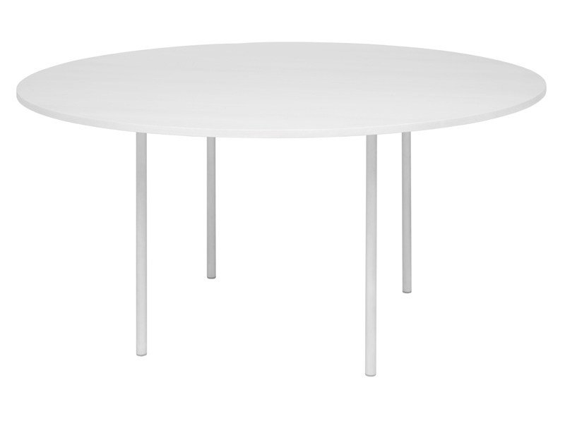 Round steel table ANNA - e15