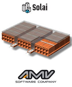 Slab calculation SOLAI by AMV