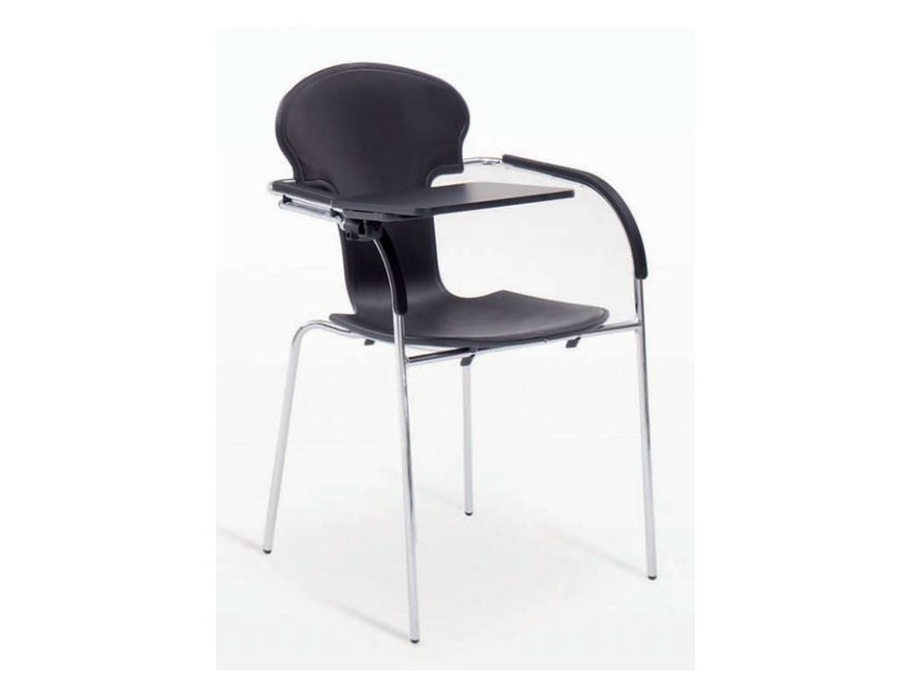 Polypropylene training chair with writing tablet MINIVARIUS | Training chair with writing tablet - BD Barcelona Design