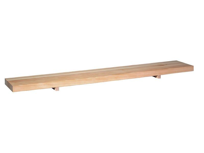 Rectangular low wooden coffee table MESA - e15