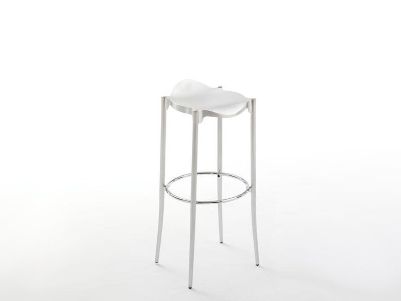 High stool with footrest JANET by BD Barcelona Design