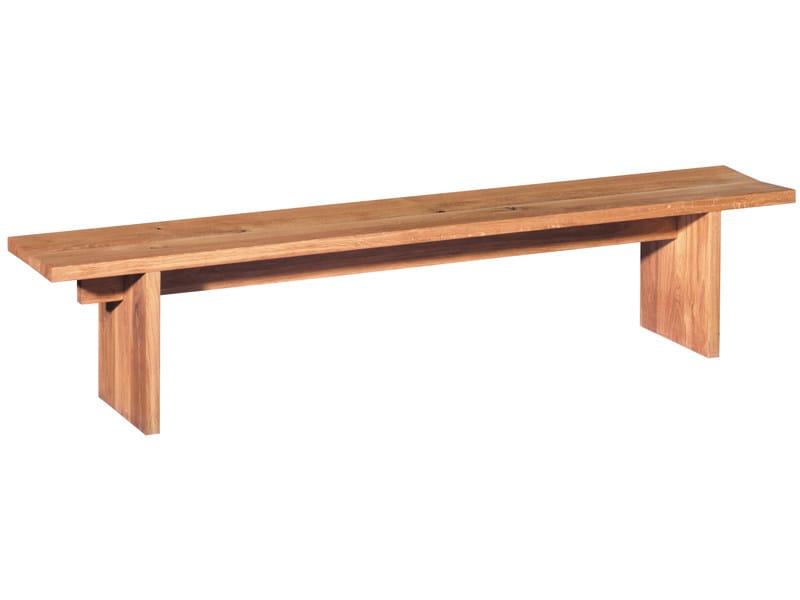 Wooden bench TARO - e15