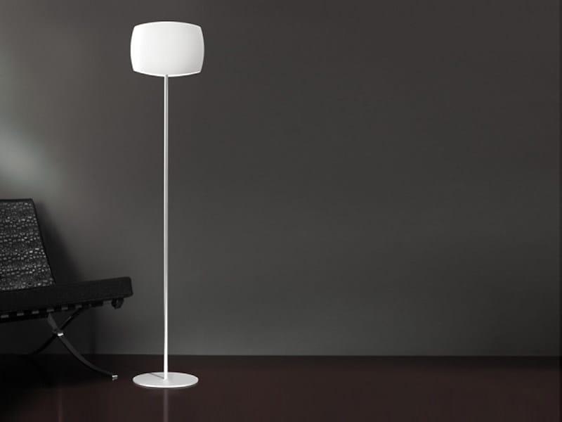Blown glass floor lamp AERO   Floor lamp - LUCENTE - Gruppo Rostirolla