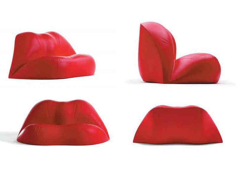 Polyethylene sofa DALILIPS - BD Barcelona Design