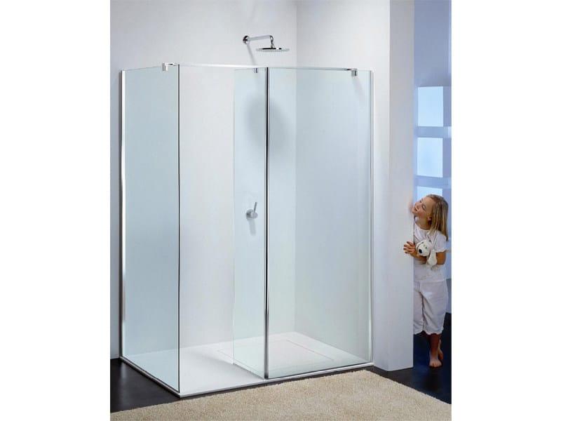 Corner glass shower cabin MODULA ME by Provex Industrie