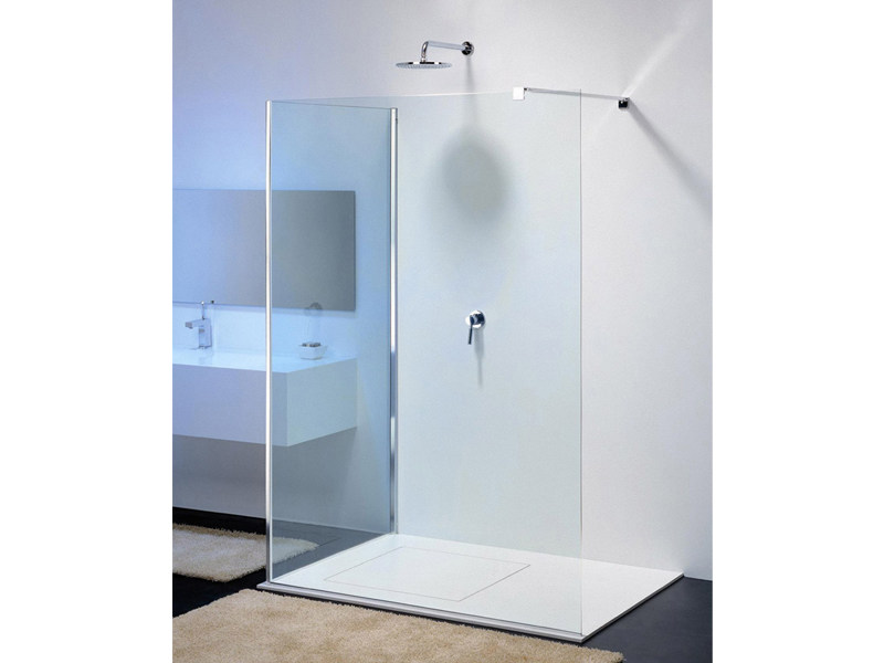 Glass shower wall panel MODULA MR-2 by Provex Industrie