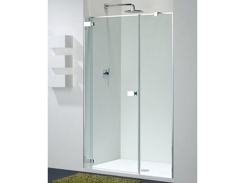 Niche glass shower cabin E-LITE EI-1 - Provex Industrie