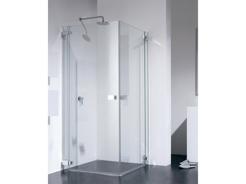 Corner glass shower cabin E-LITE ET - Provex Industrie