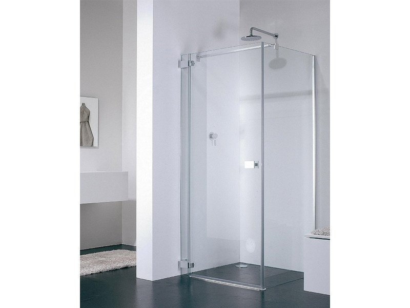 Corner glass shower cabin E-LITE ET+EW - Provex Industrie
