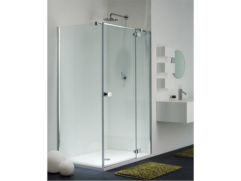 Corner glass shower cabin E-LITE EI-2 + EW-1 - Provex Industrie