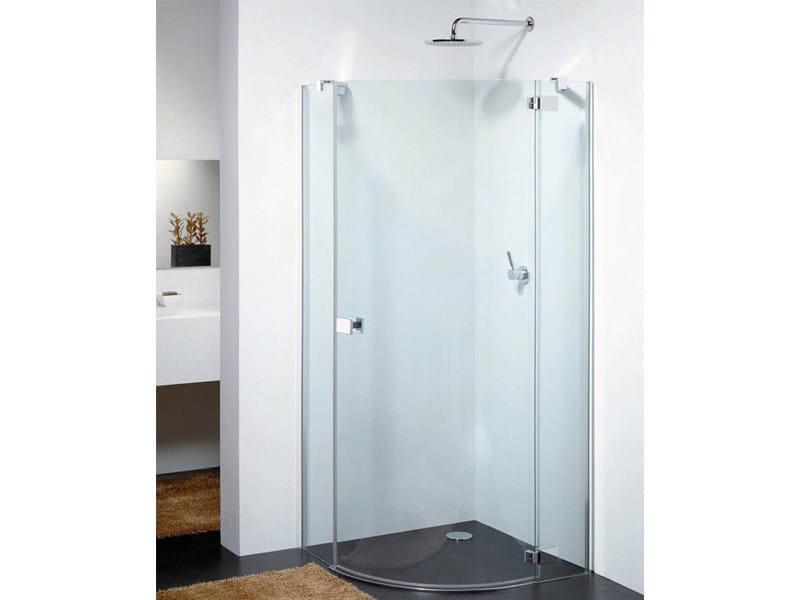 Corner glass shower cabin E-LITE ES - Provex Industrie