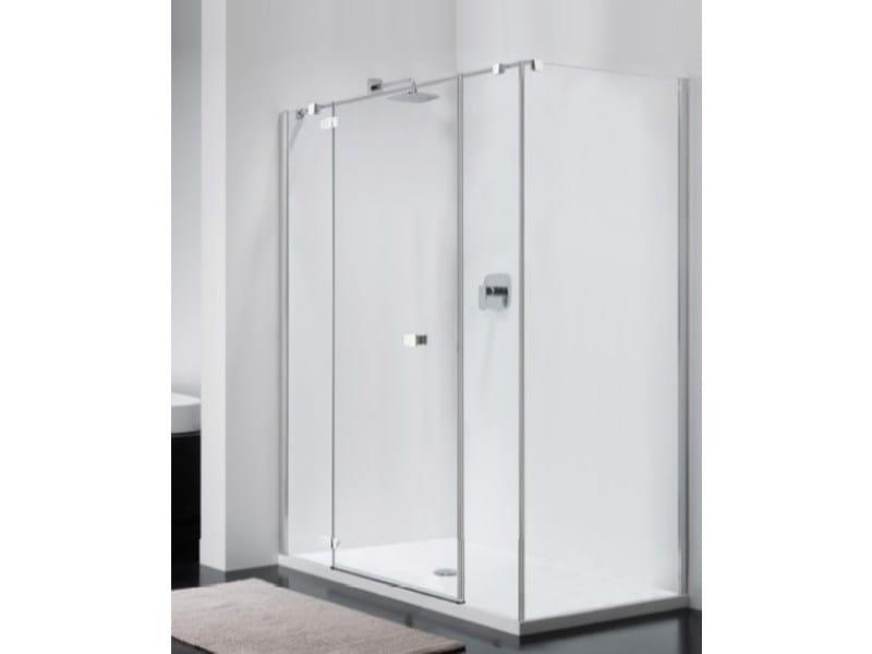 Rectangular glass shower cabin COMBI CI + CW-2 - Provex Industrie