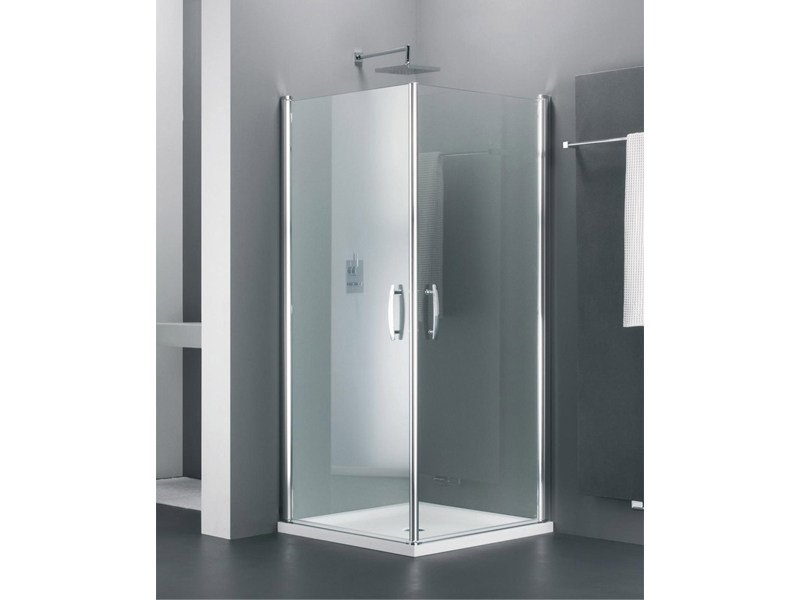 Corner glass shower cabin ELEGANCE TE - Provex Industrie