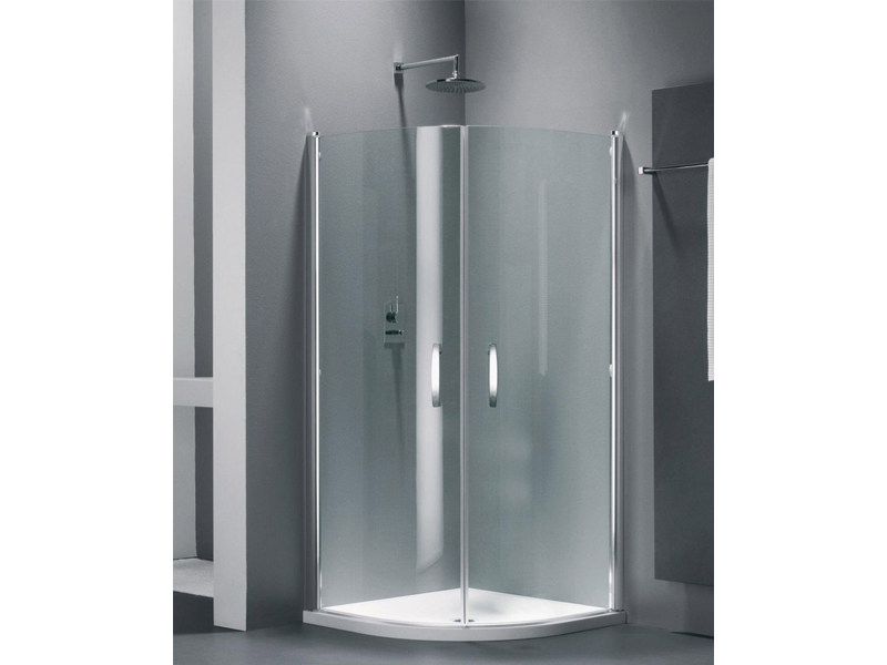 Semicircular glass shower cabin ELEGANCE QE - Provex Industrie