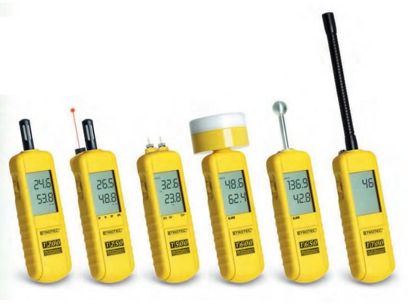 Measurement, control, thermographic and infrared instruments Humidity meter - PASI