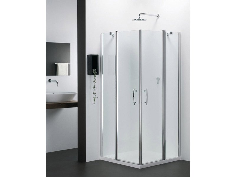 Corner glass shower cabin VARIO EV - Provex Industrie