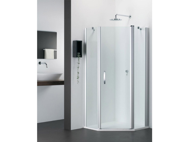 Corner glass shower cabin VARIO FV - Provex Industrie