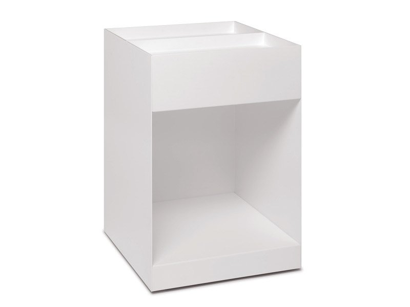 Aluminium office drawer unit with casters SQUARE - e15